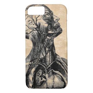 Vintage Anatomical Illustration of the Upper Body iPhone 8/7 Case