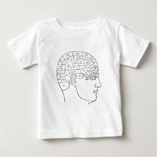 Vintage Anatomy Illustration - Phrenology Head Infant T-Shirt