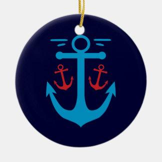 Vintage Anchor Ornament