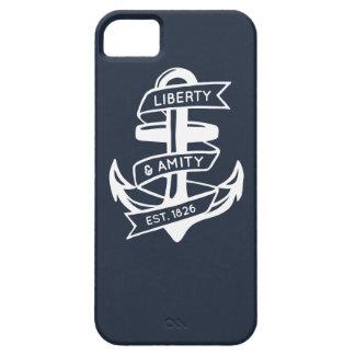 Vintage anchor design iPhone 5 case
