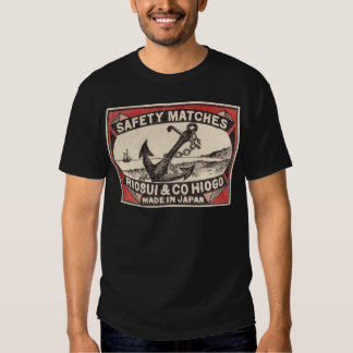 Vintage Anchor Matchbox Logo T Shirt