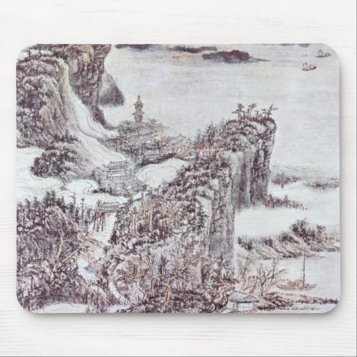 Vintage Ancient Chinese Art Mousemat