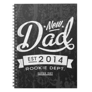 Vintage and Eye Catching New Dad 2014 Notebook
