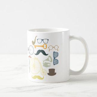 Vintage and retro collage coffee mug