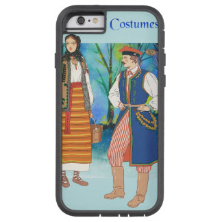 Vintage and Traditional Costumes of Poland Tough Xtreme iPhone 6 Case