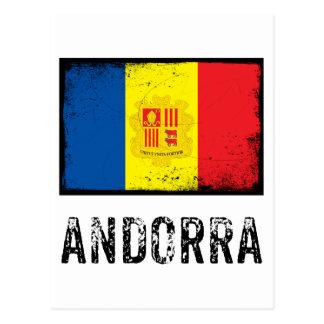 Vintage Andorra Postcard