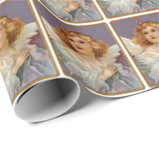 Vintage Angel Gift Wrapping Paper
