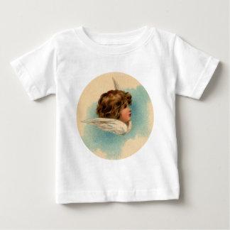 Vintage Angel Head in Circle Baby T-Shirt