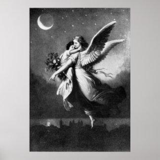 Vintage - Angel of Peace Print