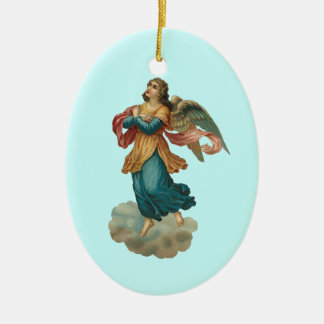 Vintage Angel Ornament With Poem