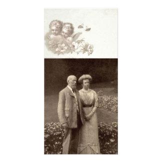 Vintage Angel Photocard Photo Greeting Card