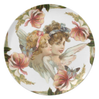 VINTAGE ANGEL PLATE DESIGN