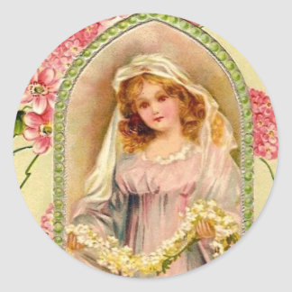 Vintage Angel sticker