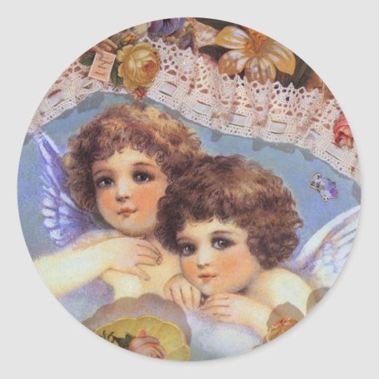 Vintage Angel Stickers