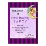 Vintage Angel Tarot Reading Party 13 Cm X 18 Cm Invitation Card