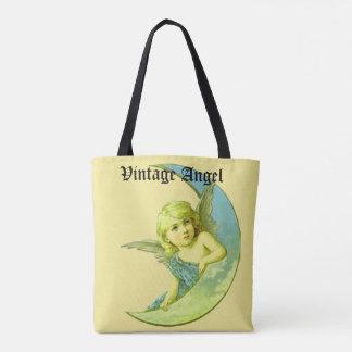 Vintage Angel Tote  Bag