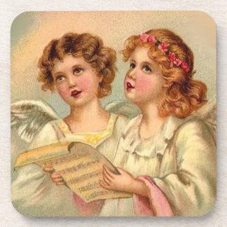 Vintage Angels Coasters