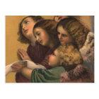 Vintage Angels Painting Postcard