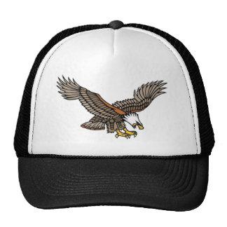 Vintage Angry Eagle Tattoo Art Cap