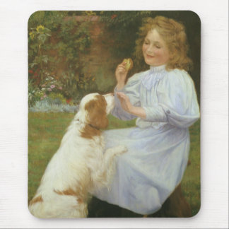 Vintage Animal Art, Pleasures of Hope by Gore Mouse Pad