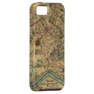 Vintage Antietam Battlefield Map (1862) iPhone 5 Cover