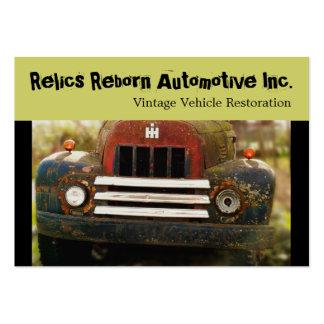 Vintage Antique Automobile Restoration Large Business Cards (Pack Of 100)