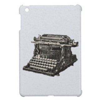 Vintage Antique Black Old Fashioned Typewriter Case For The iPad Mini
