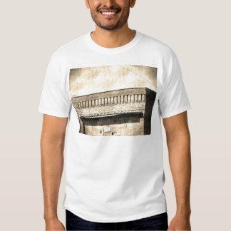 Vintage Antique Building Tshirts