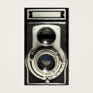 Vintage Antique Camera Collector Store Business Card