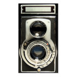 Vintage Antique Camera Collector Store Pack Of Standard Business Cards