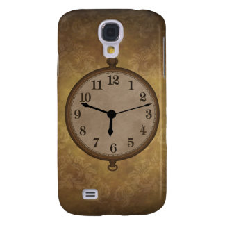 Vintage Antique Clock Pern s/4gs Galaxy S4 Case