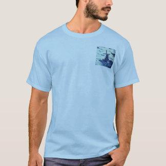 Vintage Antique Delft Blue Tile - Windmill T-Shirt