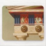 Vintage Antique Greek Ancient Doric Temple