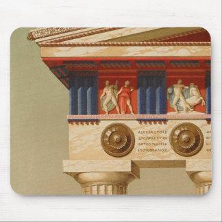 Vintage Antique Greek Ancient Doric Temple Mouse Pad