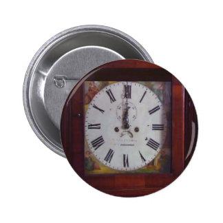 Vintage Antique Immitation Swiss Clock design gift 6 Cm Round Badge