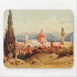 Vintage Antique Italy Florence Boboli Gardens Mouse Mat