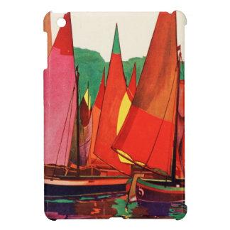 Vintage Antique Italy Travel Magazine Fishing iPad Mini Covers