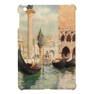 Vintage Antique Italy Venice Gondola Shrine Cover For The iPad Mini