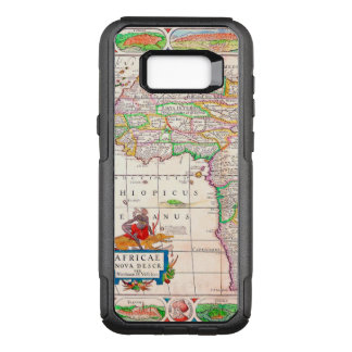 Vintage Antique Map of Africa Circa 1652 OtterBox Commuter Samsung Galaxy S8+ Case