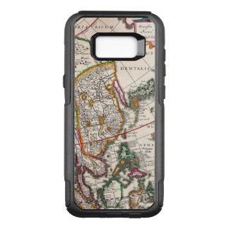 Vintage Antique Map of Asia Circa 1632 OtterBox Commuter Samsung Galaxy S8+ Case