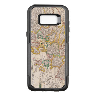 Vintage Antique Map of Europe Circa 1652 OtterBox Commuter Samsung Galaxy S8+ Case
