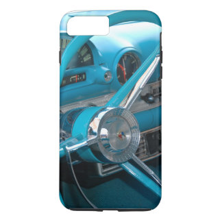 Vintage Antique Old Turquoise Blue Car Dashboard iPhone 7 Plus Case
