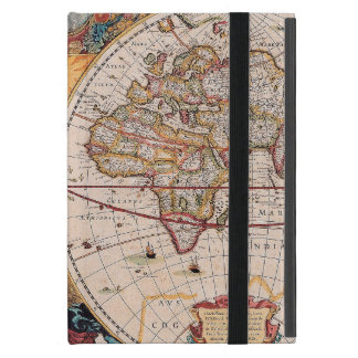 Vintage Antique Old World Map Design Faded Print iPad Mini Cover