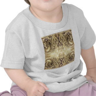 Vintage,antique ,pattern,grunge,worn,wood,wall, t shirt
