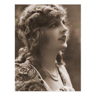 Vintage Antique Photographs Portraits of Flappers Post Card