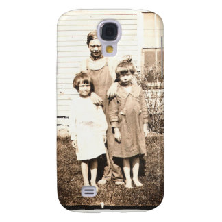 Vintage Antique Picture of Family and Friends Galaxy S4 Case