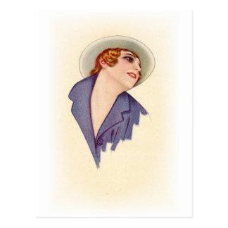 Vintage Antique Portraits & Illustrations of Women Postcard