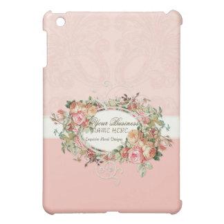 Vintage Antique Roses Floral Bouquet Modern Swirls iPad Mini Cases