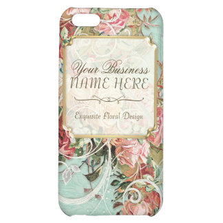 Vintage Antique Roses Floral Bouquet Modern Swirls iPhone 5C Covers