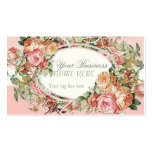 Vintage Antique Roses Floral Bouquet Modern Swirls Pack Of Standard Business Cards